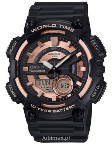 Zegarek CASIO AEQ-110W-1A3VEF Collection Men
