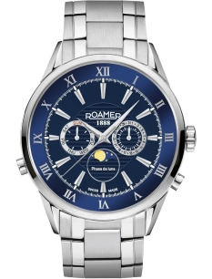 Zegarek ROAMER 508821 41 43 50 Superior Moonphase