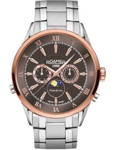 Zegarek ROAMER 508821 47 53 50 Superior Moonphase