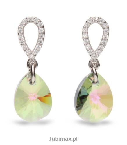 Kolczyki Pear Drop SWAROVSKI KC612810PS