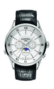 Zegarek ROAMER 508821 41 13 05 Superior Moonphase