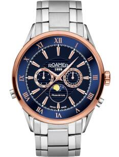 Zegarek ROAMER 508821 47 43 50 Superior Moonphase