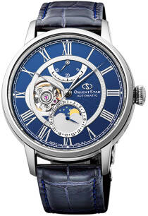 Zegarek Orient Star RE-AM0002L00B Moonphase