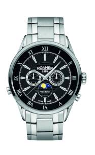 Zegarek ROAMER 508821 41 53 50 Superior Moonphase