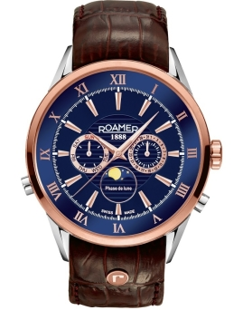 Zegarek ROAMER 508821 49 43 05 Superior Moonphase